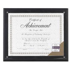 Burnes Award Plaque