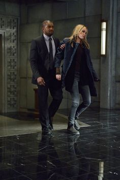 The Strain (TV Series 2014– ),  Ruta Gedmintas as Dutch Velders and Roger Cross as Mr. Fitzwilliams
