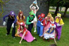 Halloween Costume Ideas - Mario