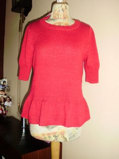 encore pour Caticolo, toujours Phildar Sweaters, Fashion, Knits, Moda, Fashion Styles, Sweater, Fashion Illustrations, Sweatshirts, Pullover Sweaters