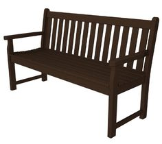 POLYWOOD TGB60MA Traditional Garden 60 Bench Mahogany ** Check out the image by visiting the link.