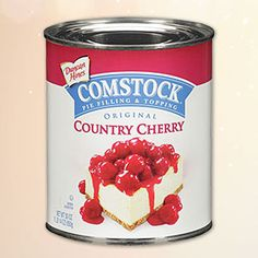 Duncan Hines Comstock® Country Cherry The freshest fruits picked at their peak to deliver homemade taste and quality-that's the promise we bring to you with Duncan Hines Comstock Wilderness® fillings and toppings.