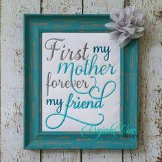 First My Mother Dejah Vue Designs