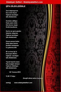 ŞİFA DİLEKLERİMLE E-kart Şiiri - Edebiyatdefteri.com