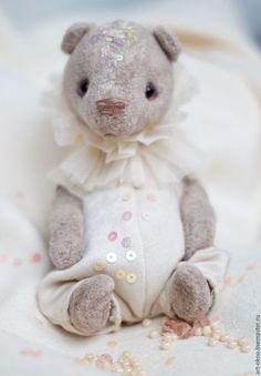 """Teddy toy / Мишки Тедди ручной работы. Малыш тедди Пьеро """"персонажи цирка""""…"""