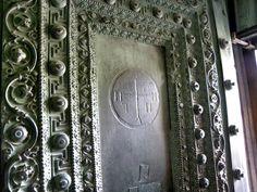 Swastika detail in the Hagia Sofia, Istanbul
