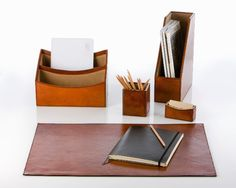 William table mat size M, cognac Balmuir