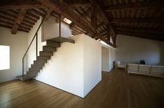 Penthouse / Studio Pietropoli #wood #structure