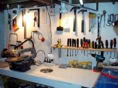 Basement workshop #1: The first bench - by Nighthawk @ LumberJocks.com ~ woodworking community