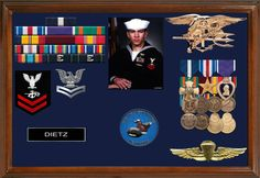 Go Navy, Navy Mom, Military Home Decor, Operation Red Wings, Military Shadow Box, Military Memorabilia, Military Retirement, Navy Military, Armada