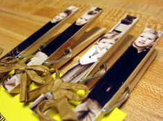Magnetic Picture Clothespins - Mother's Day Craft