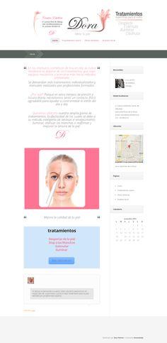 Diseño Centro de Belleza , home page| Femme Fatale