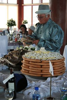 Mongolian Wedding Reception