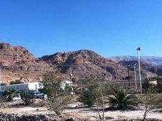 mountains around the dead sea - Jordan Side