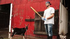 """""""Down on the Farm with Cubs Rookie Kris Bryant"""" everything about this video is awesome! :)"""