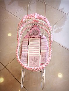 "Tray Decoration For Baby Girl Brilliant Keepsake Favor Box That Also Doubles As A ""tray"" For Favors  Baby Inspiration"