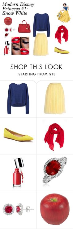 """""""Modern Disney Princess"""" by sweaf840 ❤ liked on Polyvore featuring Helmut Lang, Needle & Thread, Joe's Jeans, Faliero Sarti, Clinique, Bling Jewelry, Nearly Natural, Michael Kors and modern"""