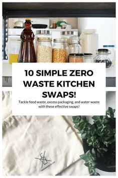 Is it just me or is the kitchen the biggest waste-generator of all, no matter how low waste you get? Here are ten easy zero waste kitchen swaps to try. Zero Waste, Reduce Waste, Diy Generator, Homemade Generator, Recycling Information, Waste Reduction, Green Living Tips, Homemade Cleaning Products, Cleaning Recipes