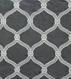 Interior design trend, Trellis geometric wallpaper | Floral Trellis Fabric by Travers | Jane Clayton