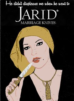 Jarid Marriage Knives - Best in Ebou Dar by minniearts Wheel of Time
