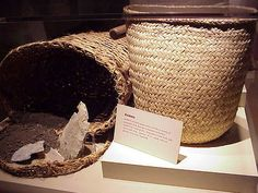 Basketry+well+developed+at+Cahokia Mound in Illinois, USA