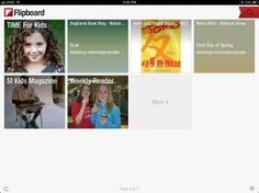 Create student centered magazines using the Flipboard app (apptivity from Engage Their Minds blog)