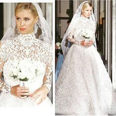 """""""@nickyhilton @maisonvalentino o vestido de noiva mais lindo que já vi!  apaixonada! #nickyhilton"""""""