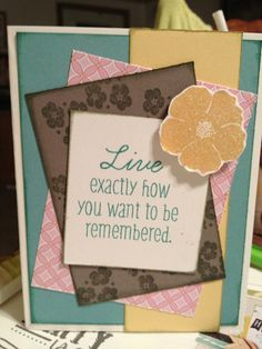 This card was made using the special  hostess only reward stamp set . #CTMH