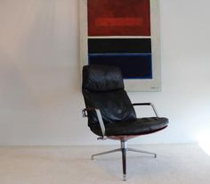 AreaNeo   FK-86 Lounge Chair by Preben Fabricius & Jørgen Kastholm for Kill International 1965