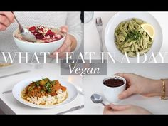 What I Eat in a Day #17 (Vegan/Plant-based) | JessBeautician AD - YouTube