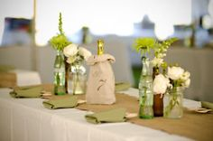 10m Hessian Burlap Table Runner Roll Vintage Country Natural Wedding Decorations