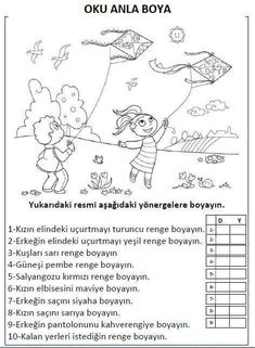 Party Activities, Science Activities, Activities For Kids, Speech Language Therapy, Speech And Language, First Grade, Grade 1, Turkish Language, Teaching English