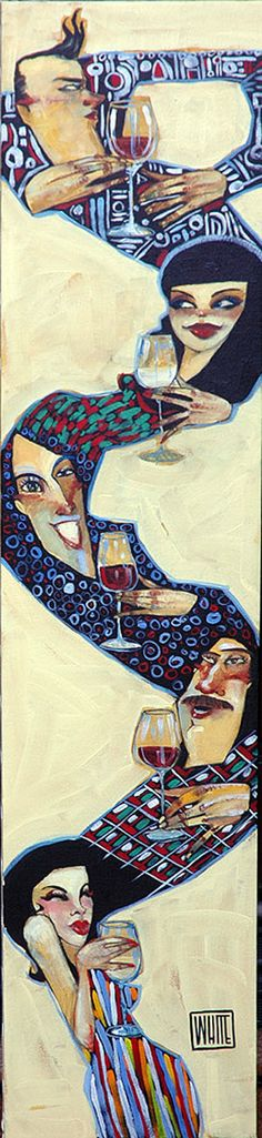 'Wined Up' by Todd White