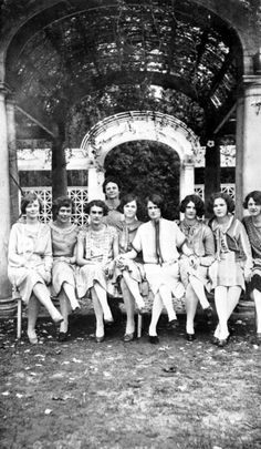 Florida State College for Women students, 1926