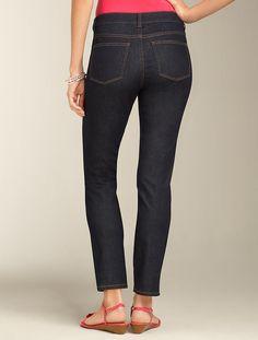 Talbots - Heritage Fit Deep Rinse Slimming Ankle Jeans | Ankle | Misses - Deep Rinse