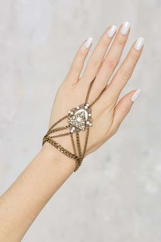 Giulia Pavé Hand Piece | Shop Accessories at Nasty Gal!