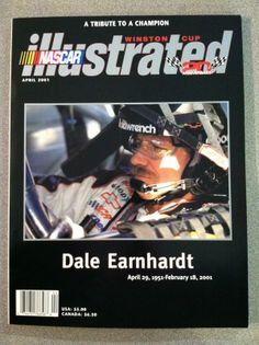 Dale Earnhardt Sr NASCAR Illustrated, A Tribute to a Champion, magazine