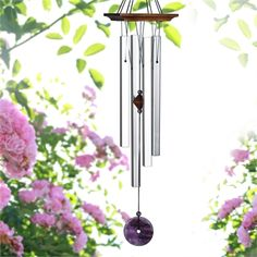The beauty and restful tones of the Amethyst Wind Chime will charm you. From the Woodstock Chimes Signature Collection. Purple Quartz, Sounds Good, In Ancient Times, Ancient Greece, Woodstock, Mother Day Gifts, Four Square, Wind Chimes, Valentine Day Gifts