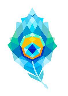 Tattoo Geometric Animal Design Art Prints Ideas For 2019 Krishna Painting, Krishna Art, Wall Art Designs, Design Art, Design Lotus, Art Buddha, Tattoos Mandala, Polygon Art, Indian Art Paintings