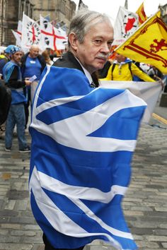 Scottish Independence March And Rally. Pic © Colin McPherson 2013, all rights reserved.