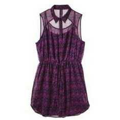 7de7ef2aa0f Women s sheer dress Used good condition from a pet smoke free house it fits  above the knee . Pure Energy Women s Plus-Size Sleeveless Dress -  Fuchsia Navy ...