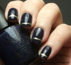 The Clockwise Nail Polish: OPI Road House Blues