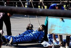 NCRI - The Iranian regime's henchmen executed three prisoners in public on Saturday using a crane, pulley system and a specially adapted device for group executions. The three men were hanged in the city of Bandar Abbas in southern Iran. The...