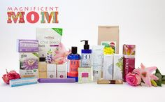 In this ecofabulous collection of #organic, non-GMO, Fair Trade goodies, you'll find Acure Radical Wrinkle Complex, Aubrey Organics Revitalizing Moisturizer, EO Products Rose & Chamomile Body Lotion, Lotus Moon Hydro Therapy Eye Serum, Nutiva Chia Seeds, and much, much more. #beauty #wellness #MothersDay