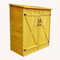 W x 3 Ft. D Wood Lean-To Storage Shed</strong> by Leisure Season Storage Shed Kits, Wood Storage Sheds, Outdoor Storage Sheds, Wood Shed, Rv Storage, Firewood Storage, Extra Storage, Storage Ideas, Decks