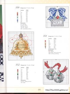 Point de croix *<3* Cross stitch Christmas