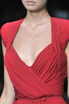 Elie Saab at Paris Fashion Week Spring 2010 (Details)