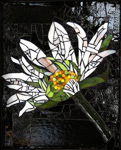Day & Night by Patty Franklin Mosaic ~ 10 x 8