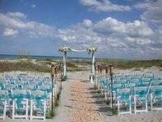 Ocean Landing Resort beach ceremony