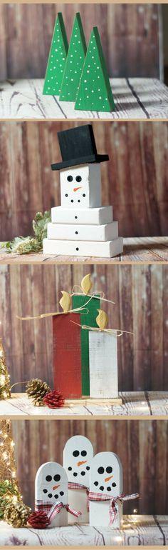 Rustic Christmas decor, Farmhouse Christmas, Rustic Snowman decor, Rustic Christmas candle decor, Rustic Christmas tree decoration, Primitive Christmas, Farmhouse Christmas, Winter decor #affiliate